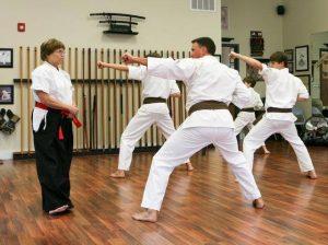 karate-workout